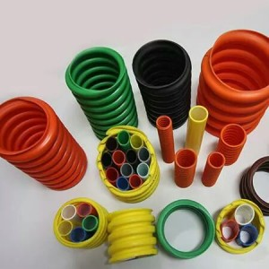 Mẫu ống nhựa gân xoắn