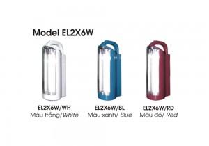 Đèn chiếu sáng Model EL2x6W