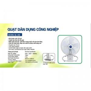 Quạt công nghiệp dân dụng QL-450